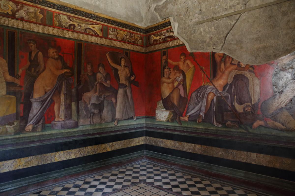 Come arrivare alla Villa dei Misteri di Pompei
