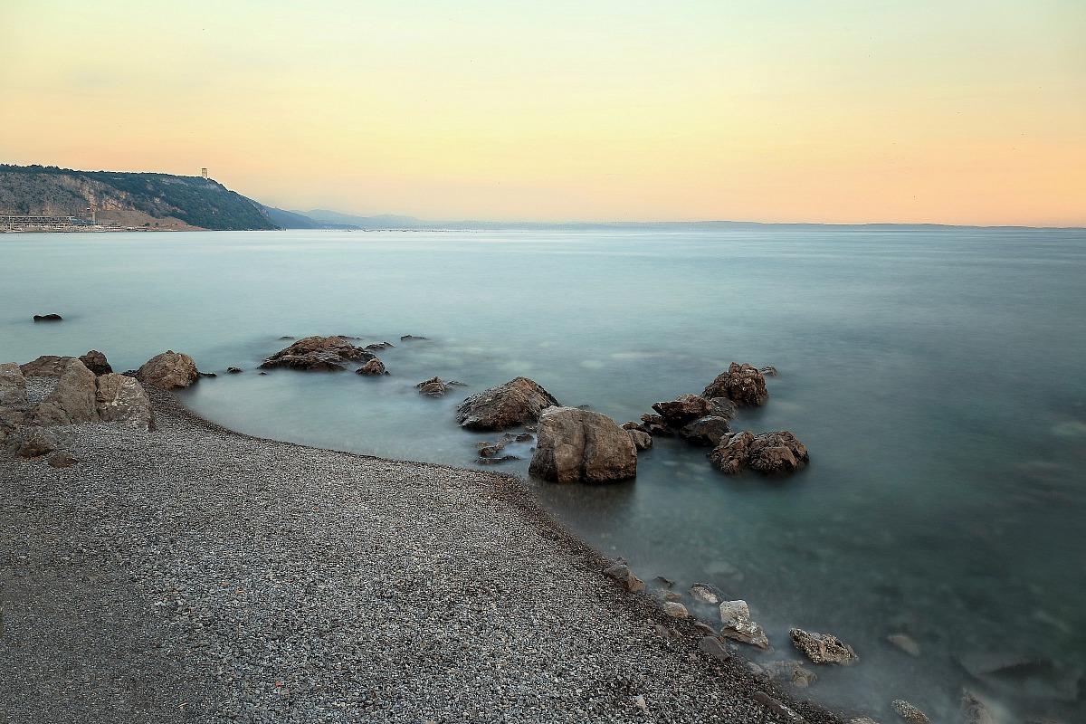 Come raggiungere spiaggia Ex- Caravella, Friuli