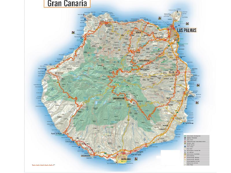 Gran Canaria cartina 18ugw9e5