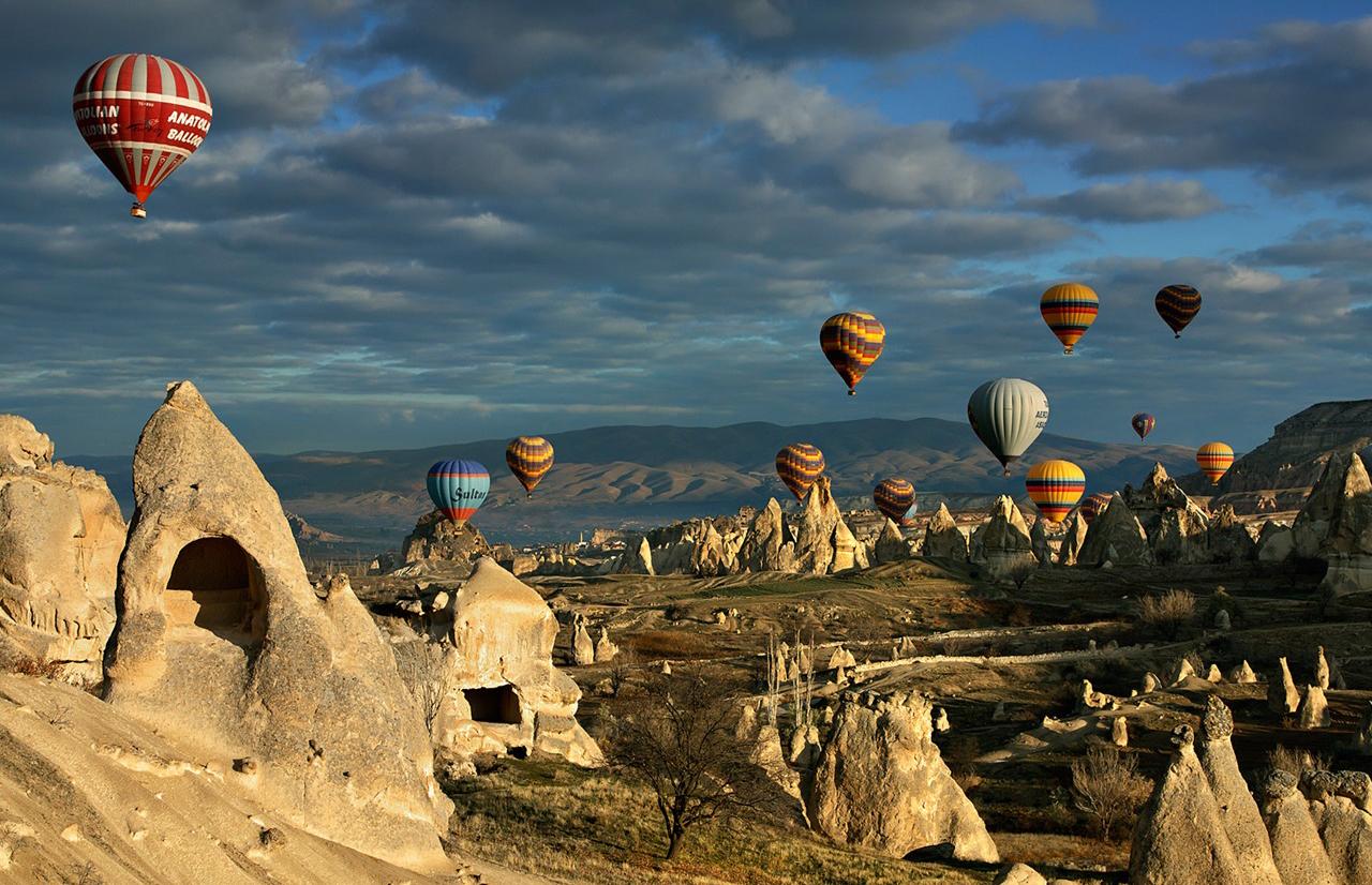 Quando fare escursione in mongolfiera in Cappadocia?