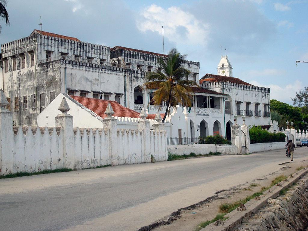 Cosa vedere nel palazzo delle meraviglie, Zanzibar