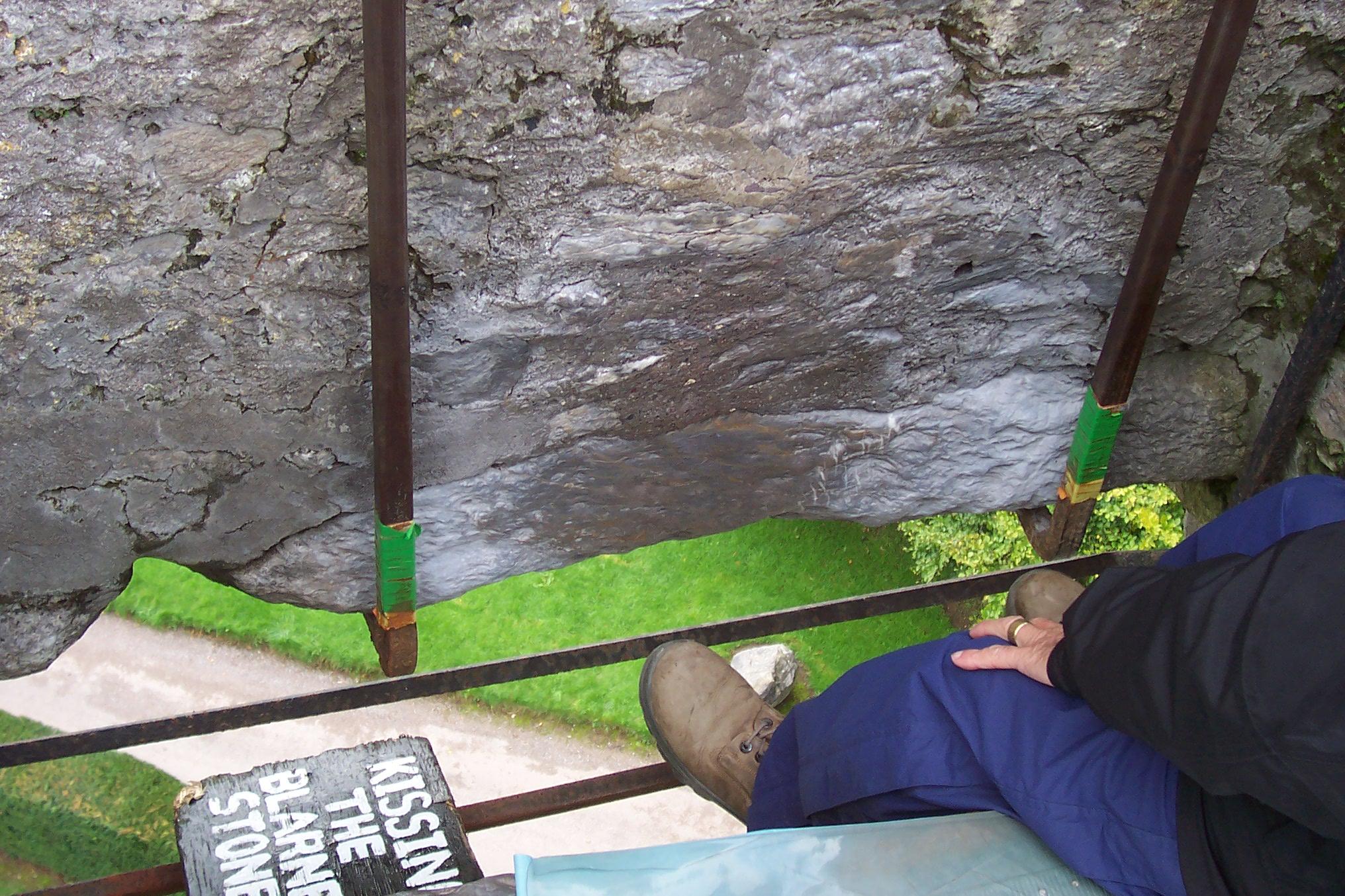 Storia della pietra di Blarney Stone, Castelo Irlanda