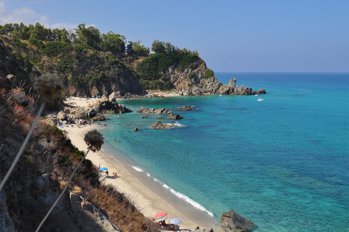 Come raggiungere spiaggia della Marinella di Palmi, Calabria