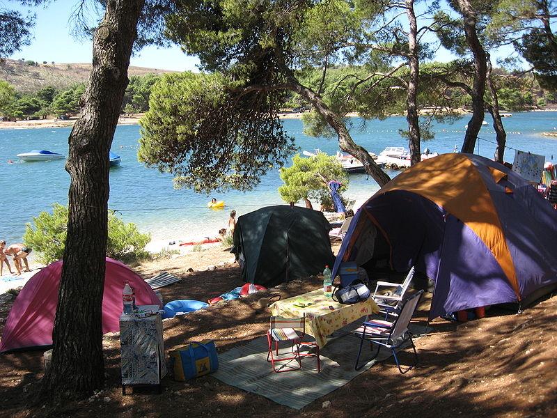 Migliori località camping Croazia