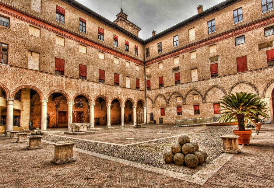 Visitare Castello estense Ferrara con bambini