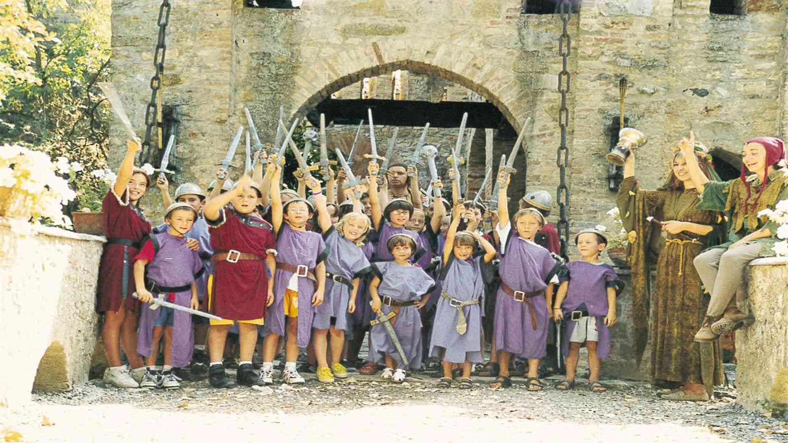 Visitare Castello di Gropparello con bambini
