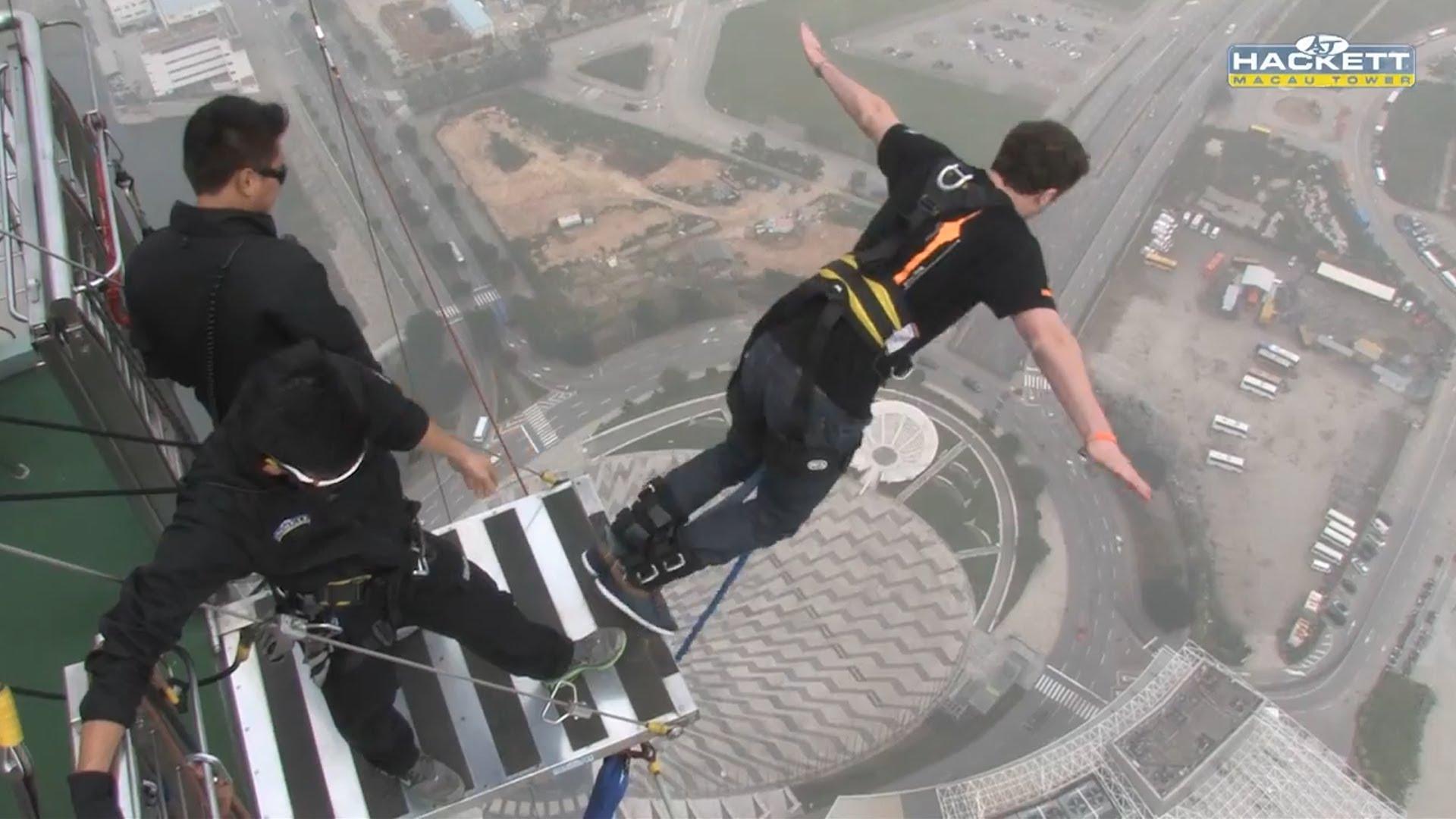 Costo bunging jumping da Torre di Macao Cina