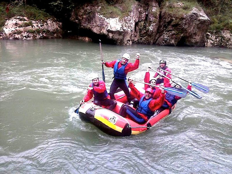 Classifica migliori percorsi rafting Spagna