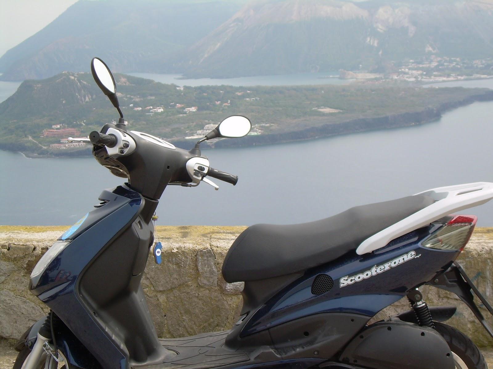 scooter al mare