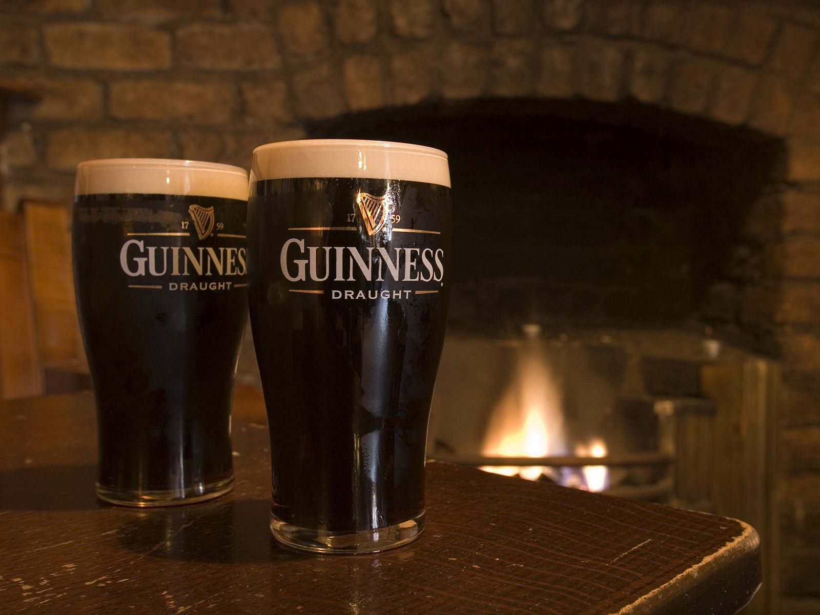 two pints of guinness leinster ireland