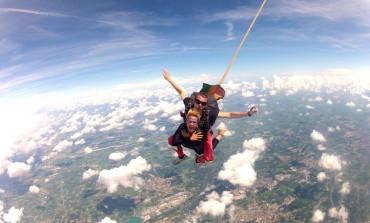Quanto costa lancio con il paracadute