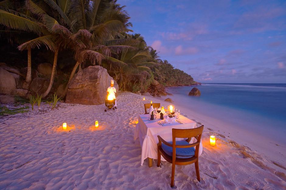 Fregate Island Cena Romantica