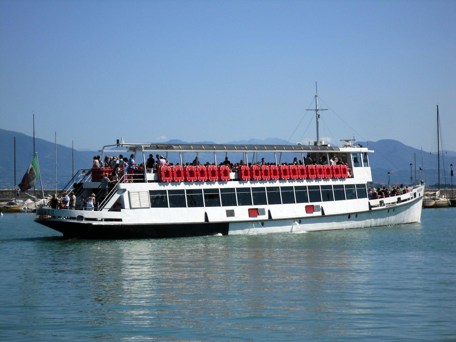 Orari e prezzi battello Lago di Garda