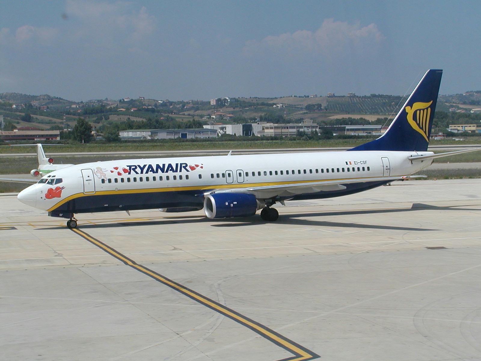 Aeroporti collegati Ryanair Milano Malpensa