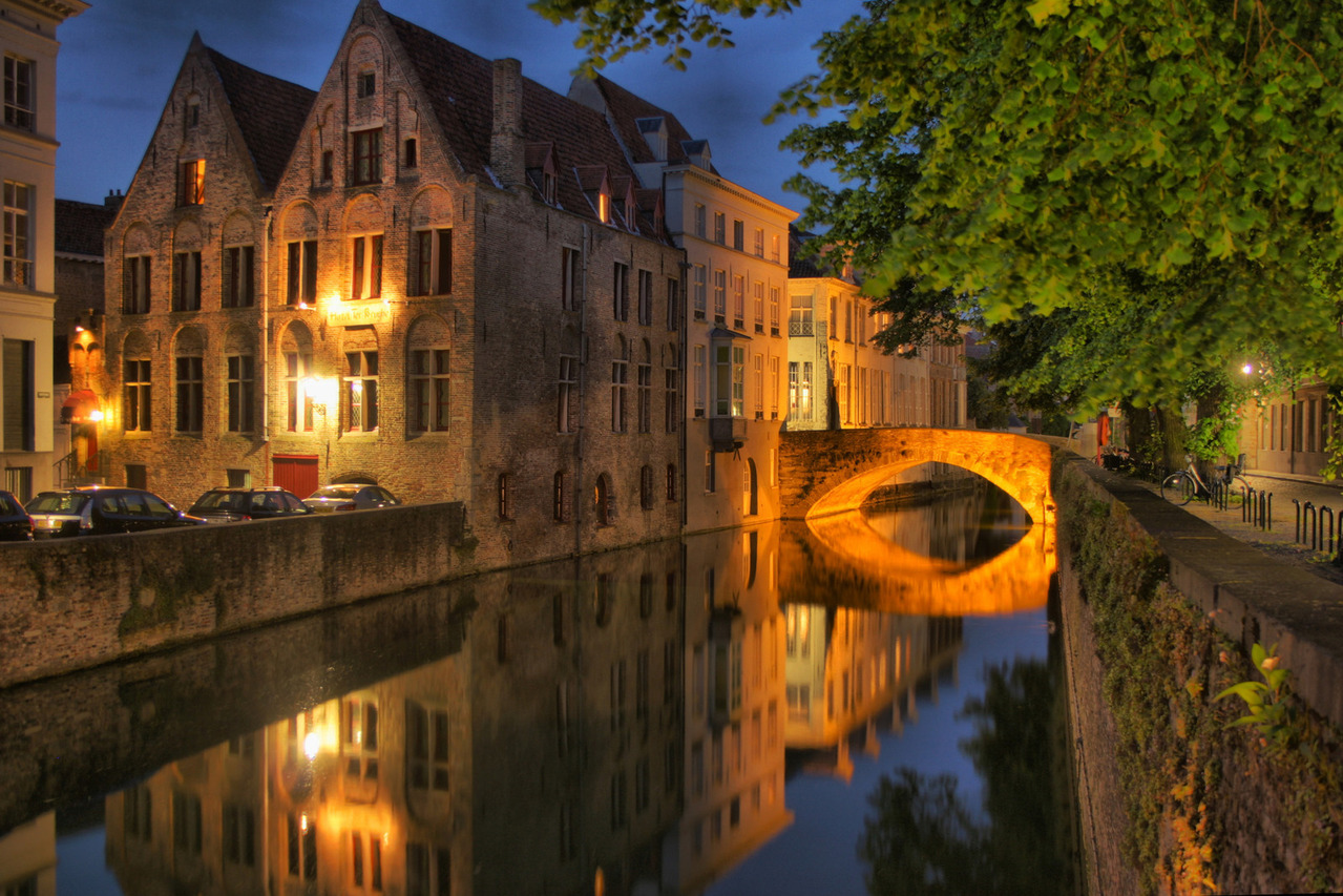 Itinerario weekend Bruges autunno