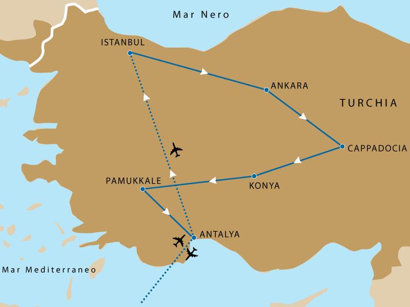 Offerte Tour della Cappadocia