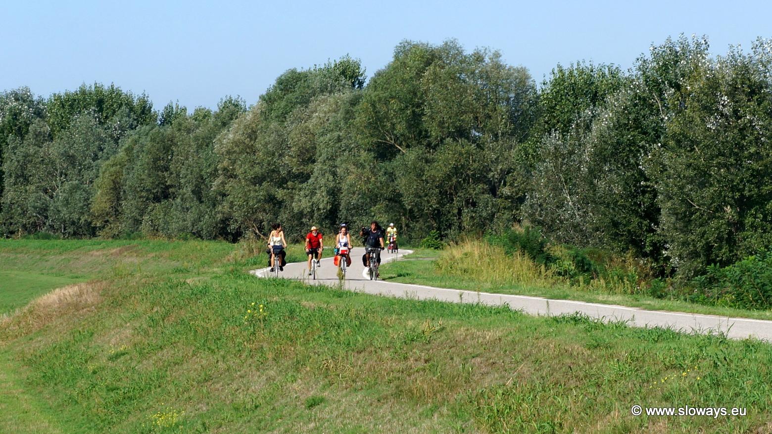 itinerario bicicletta Ferrara con i bambini