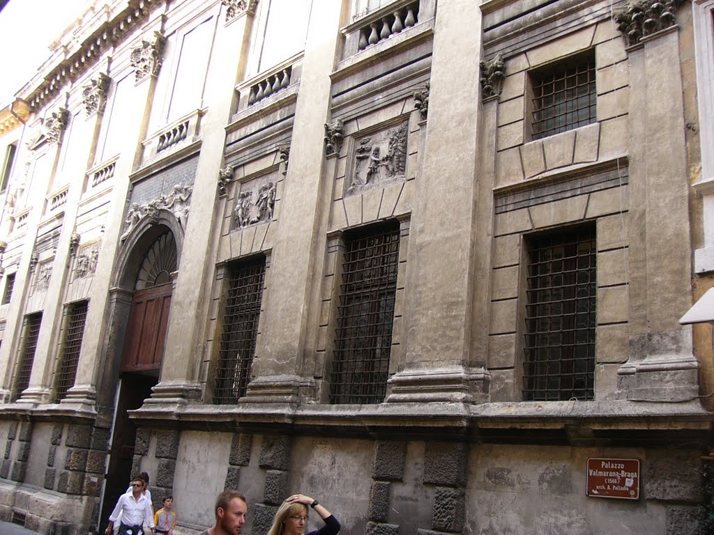 Come arrivare a palazzo Valmarana Braga