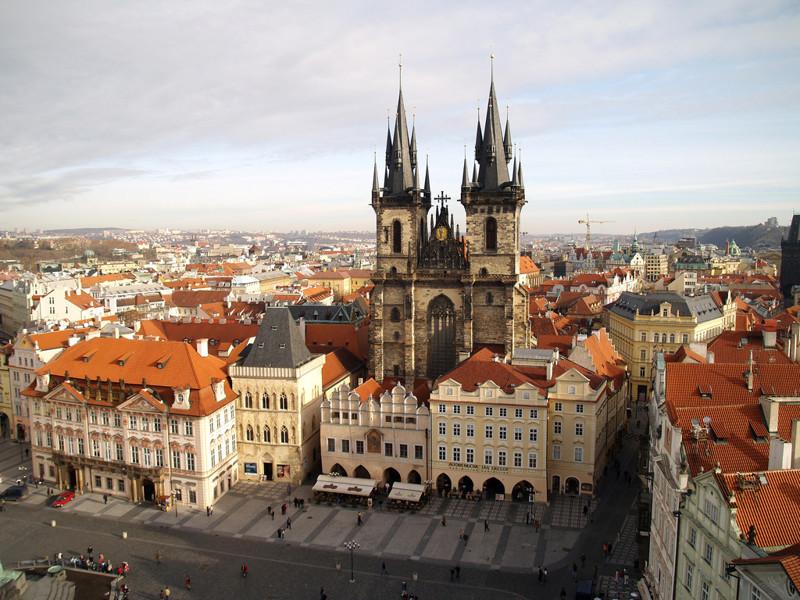 Che temperature Praga ad aprile
