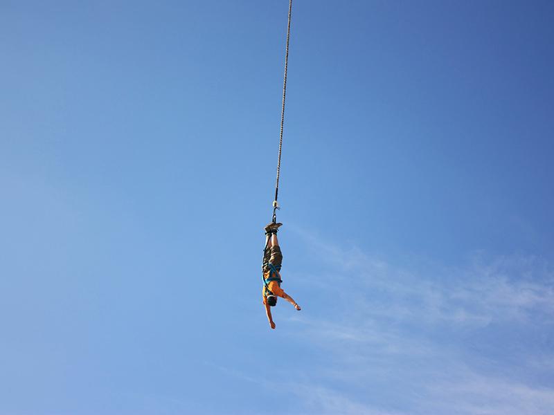 Dove fare bungee jumping Italia