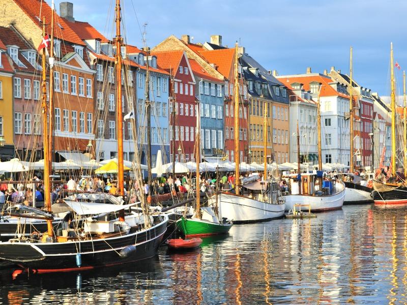 Che temperature Copenaghen ad aprile