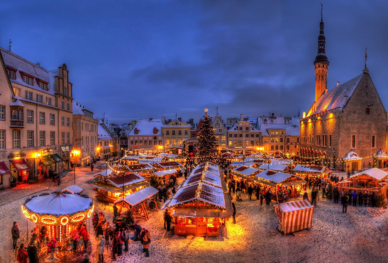 Mercatino di Natale, Tallin