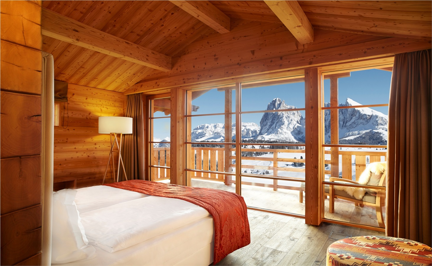 Resort sulle Alpi