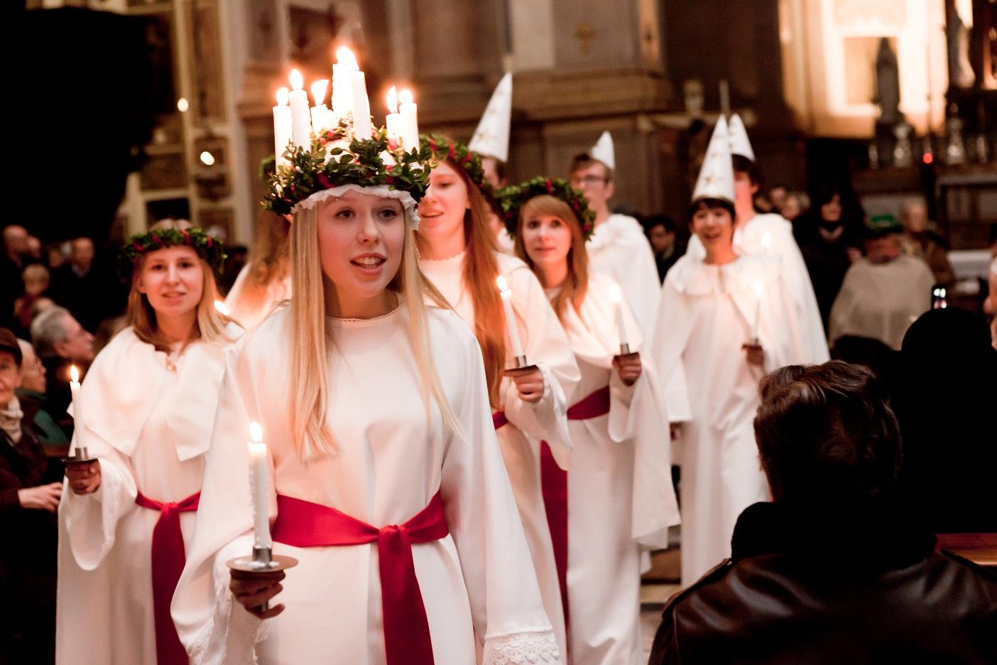 Santa Lucia in Svezia