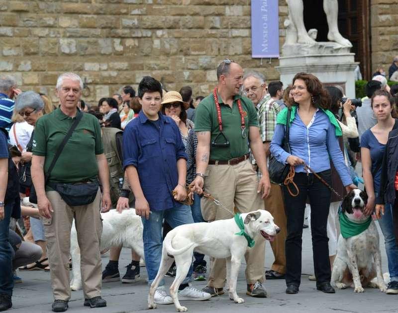 Cani a Firenze