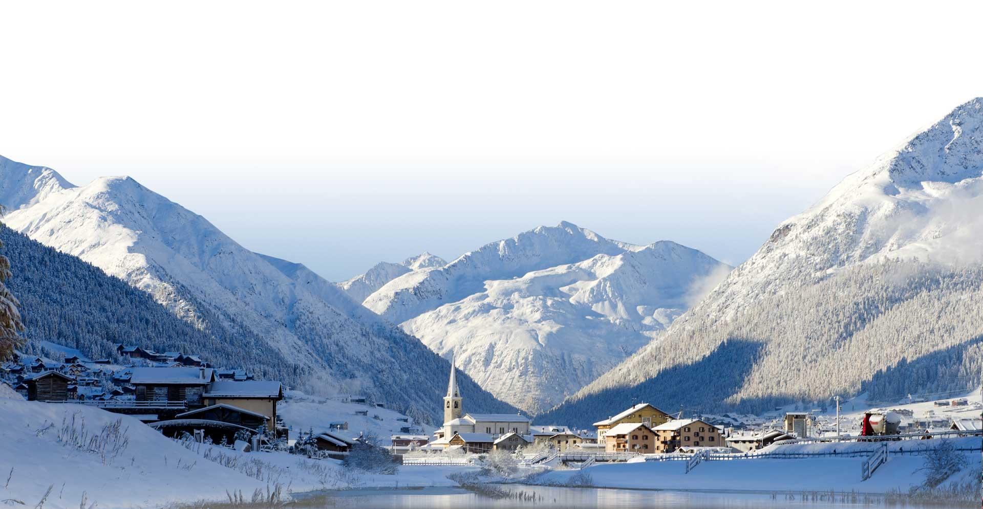 piste da sci di Livigno