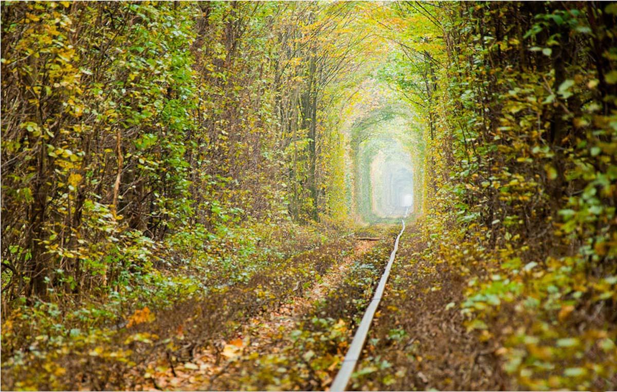 Dove si trova il tunnel dell'amore in Ucraina