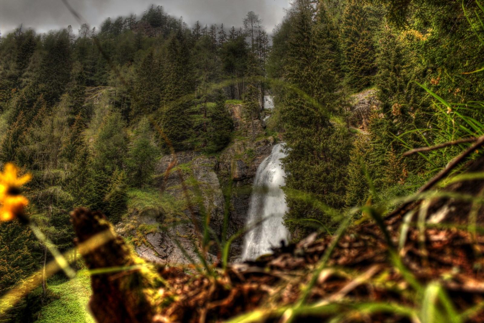 cascate di Saènt