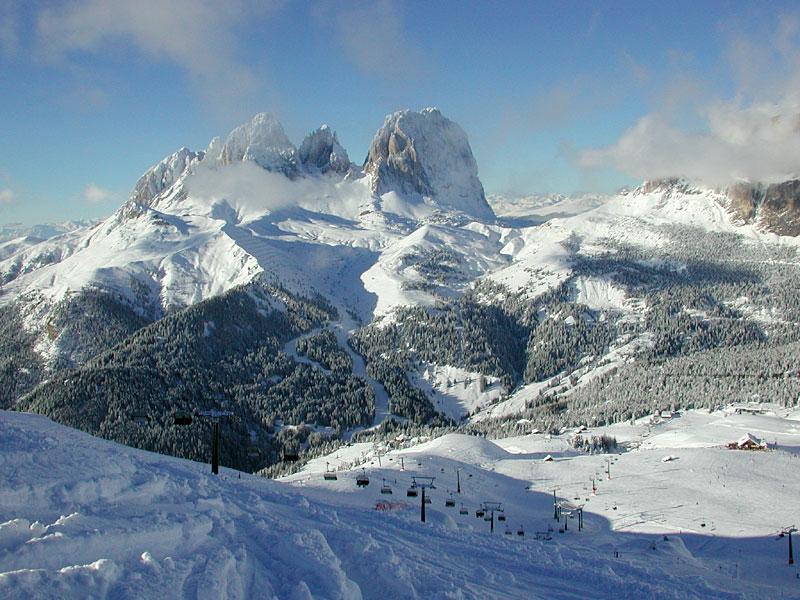 Migliori piste da sci di Canazei