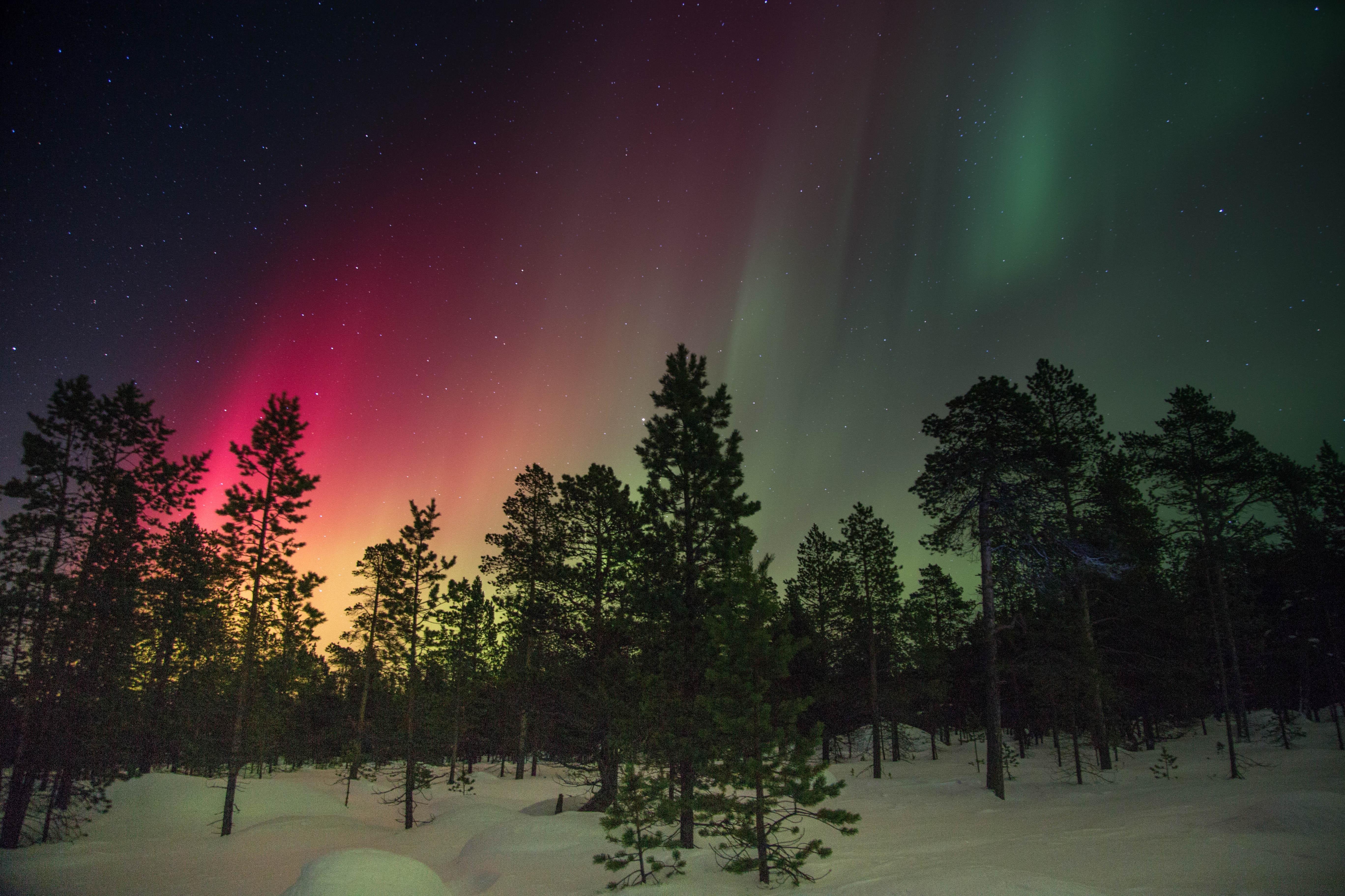 10 luoghi per vedere l'aurora boreale