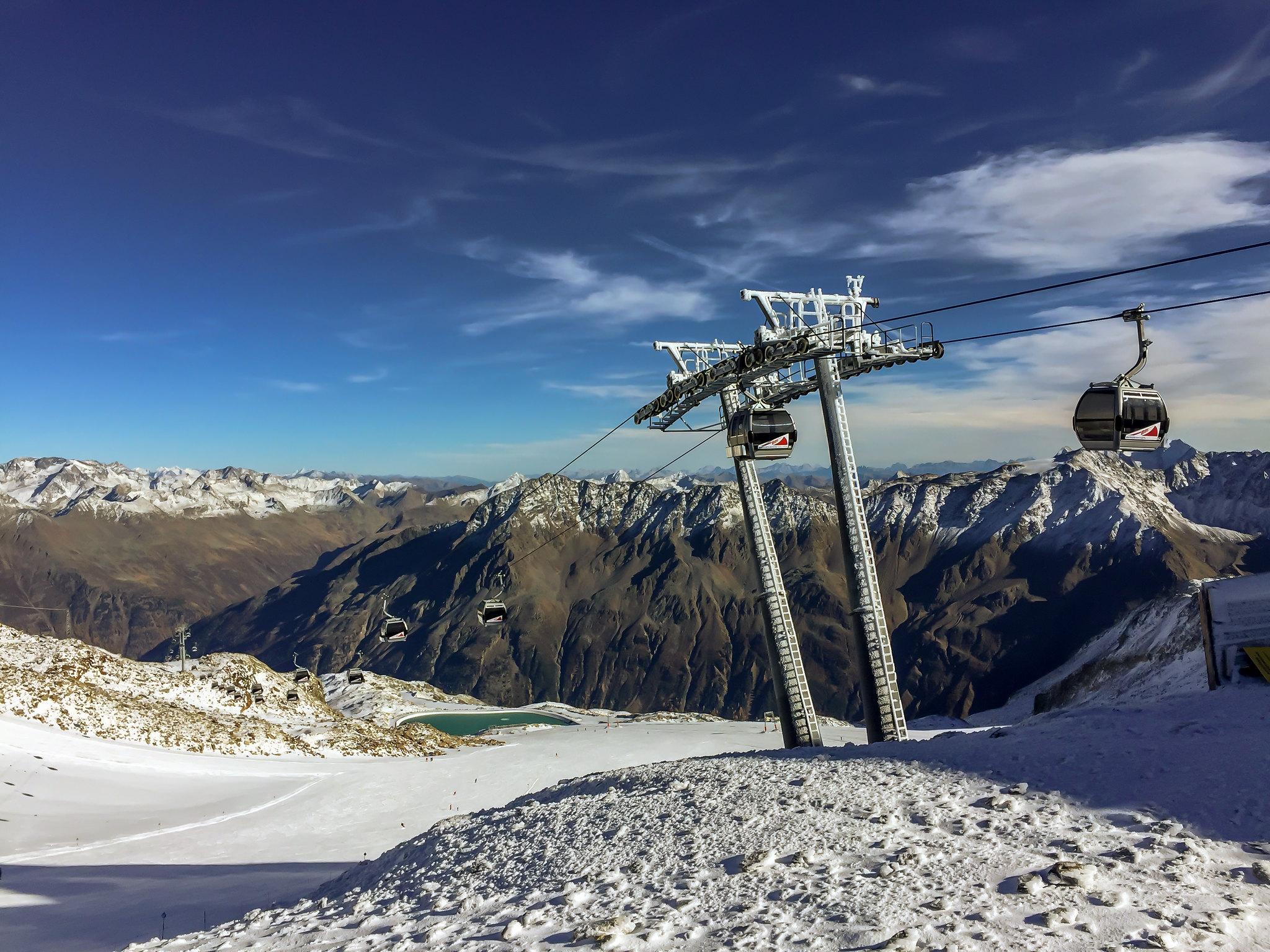 piste da sci dell'austria