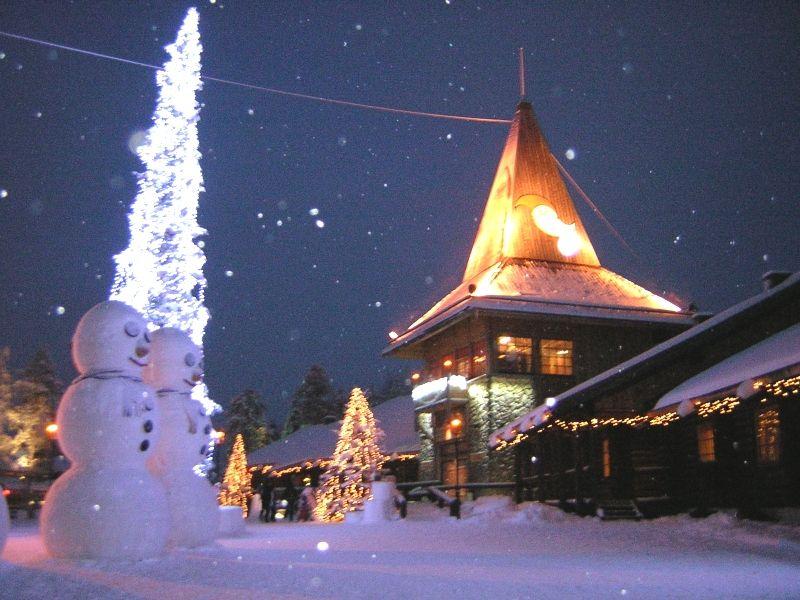 Rovaniemi Lapponia Babbo Natale.10 Motivi Per Visitare Rovaniemi A Natale Viaggiamo