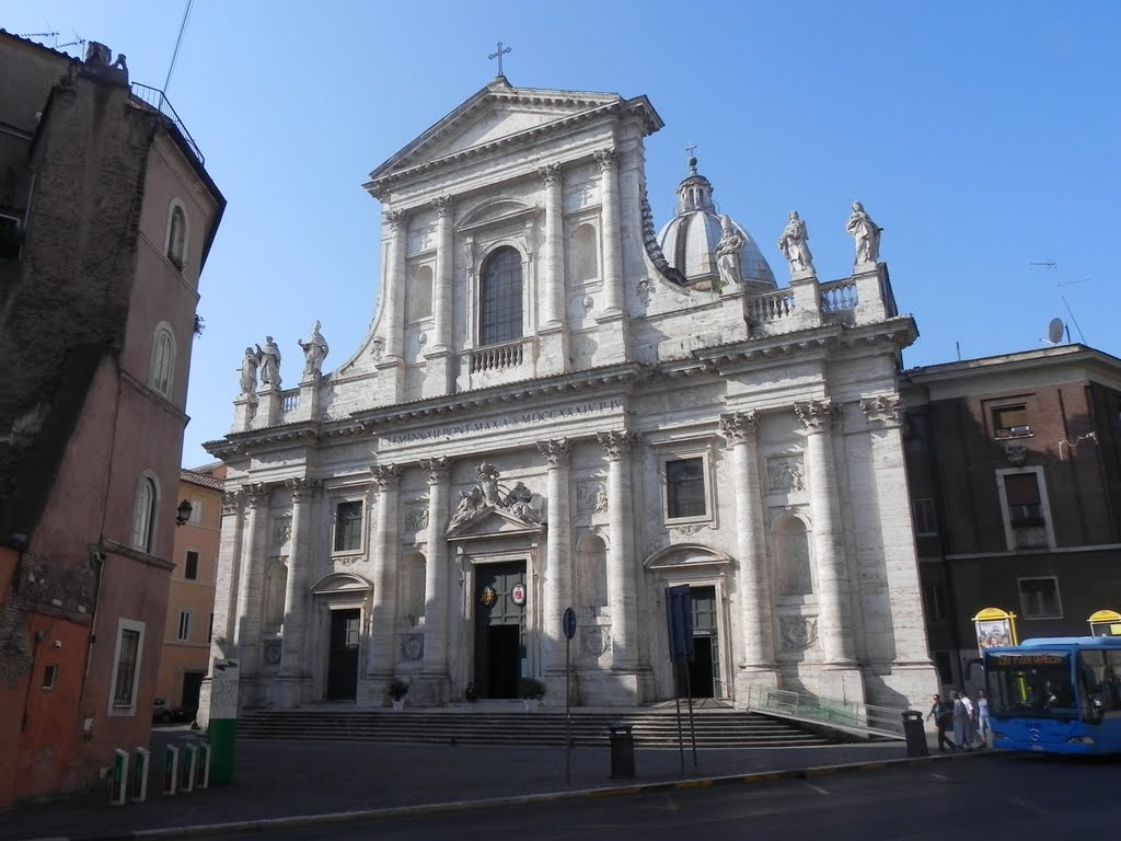Chiesa S.Giovanni Battista dei Fiorentini, Roma