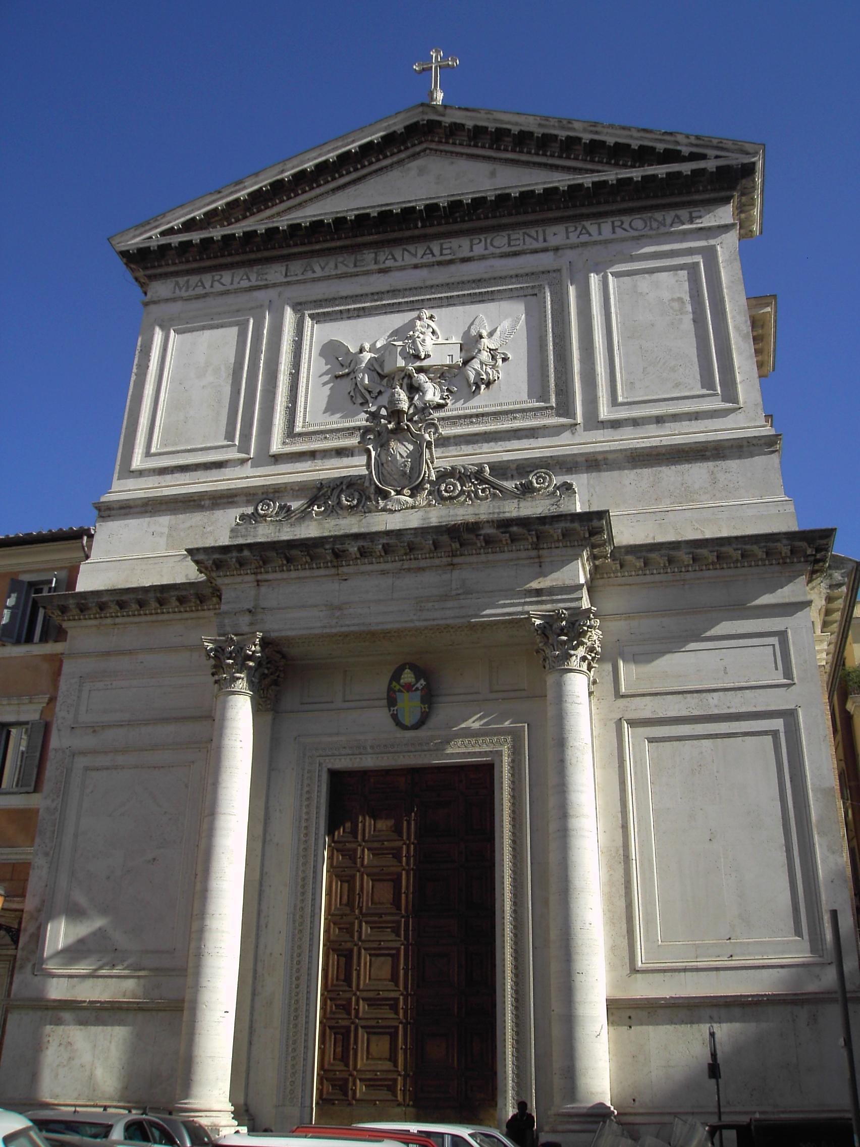 Chiesa S.Salvatore in Lauro, Roma