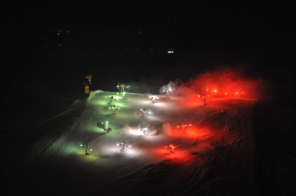 Capodanno fiaccolata notturna montagna
