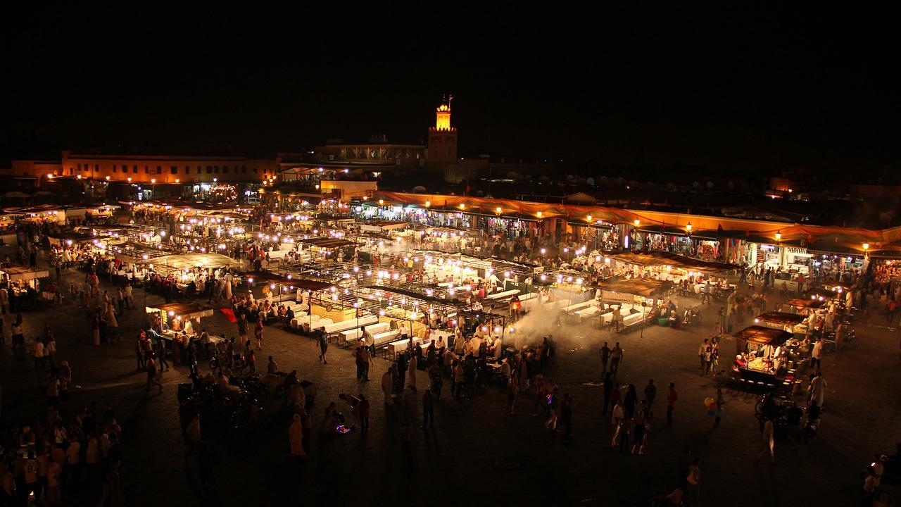 capodanno a Marrakech in Piazza Jam El Fna