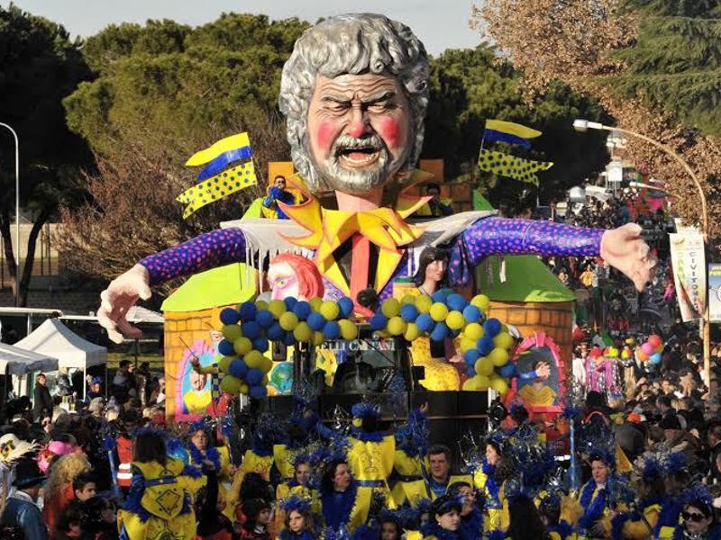 Classifica Carnevali più belli del Lazio