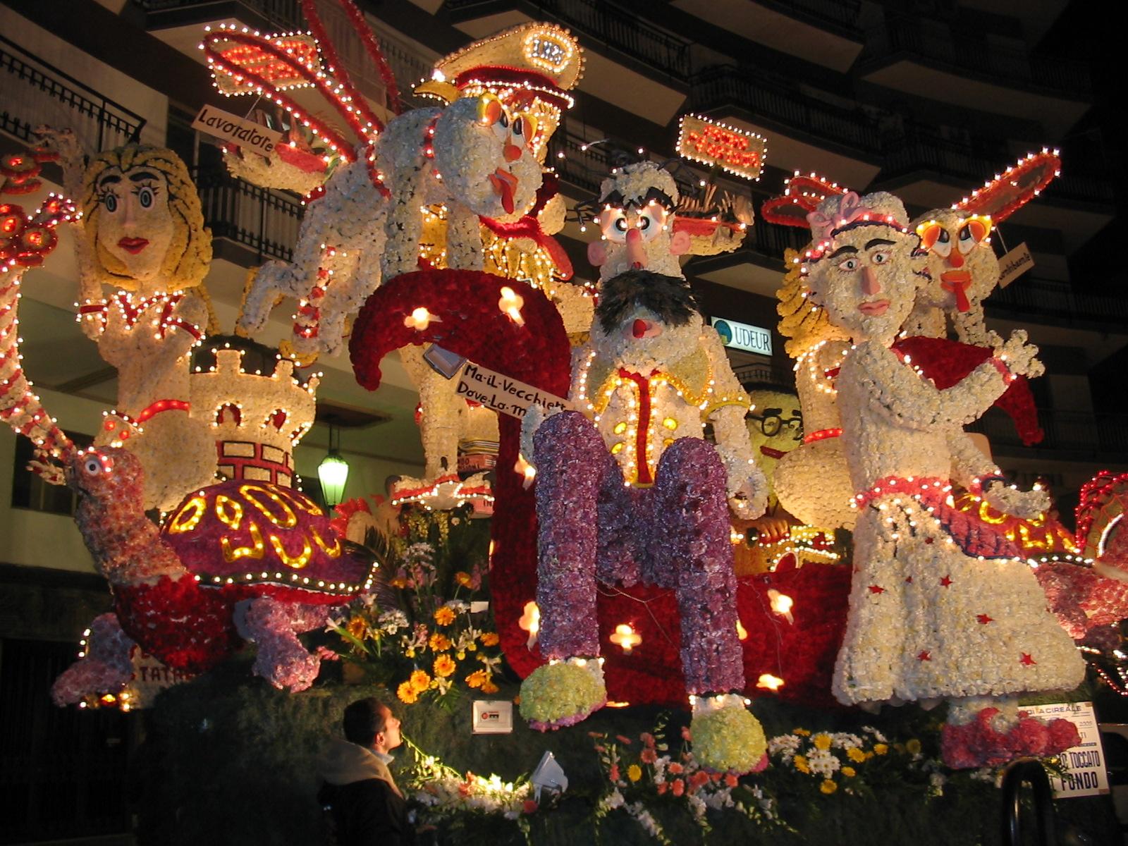 Carnevale Acireale, Sicilia