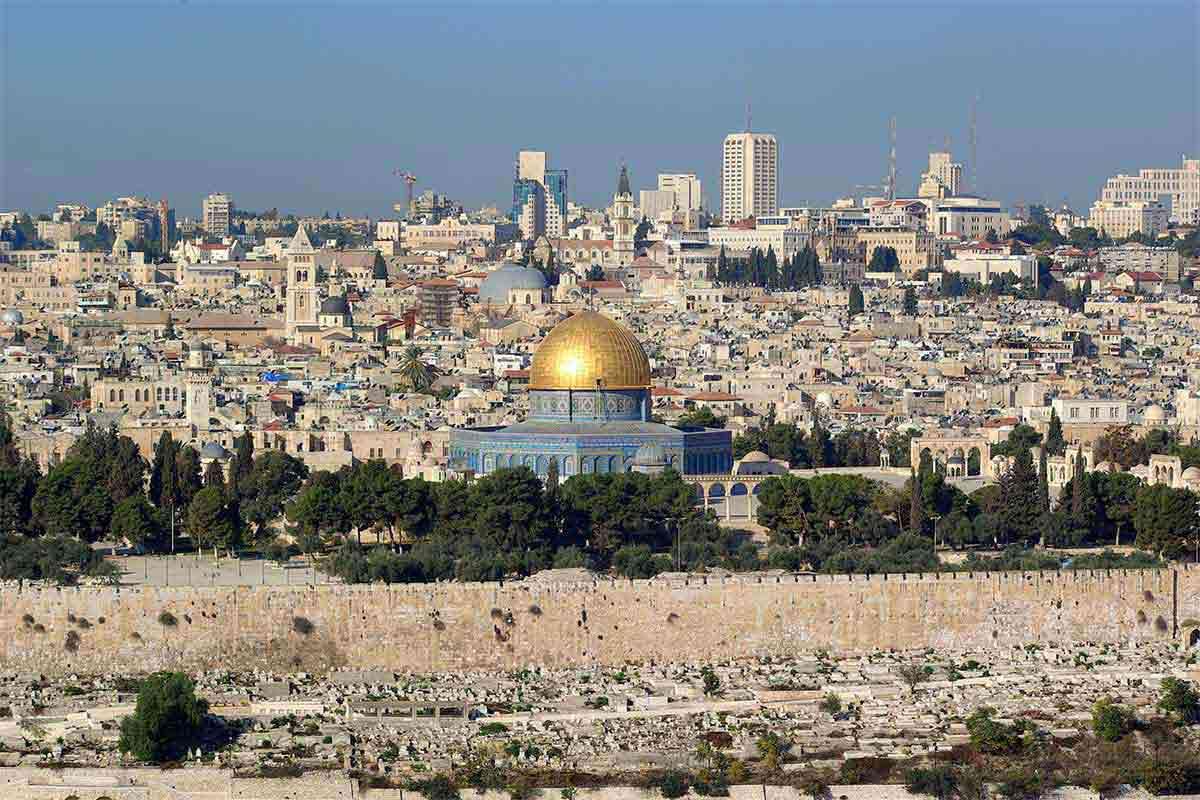 Gerusalemme, uno dei luoghi di Terra Santa