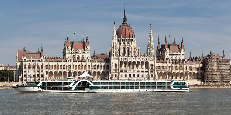 Budapest, vista dal Danubio
