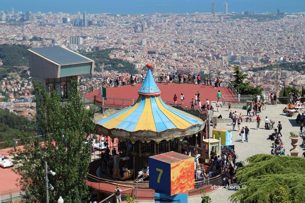 Quali sono attrazioni del parco Tibidabo, Barcellona