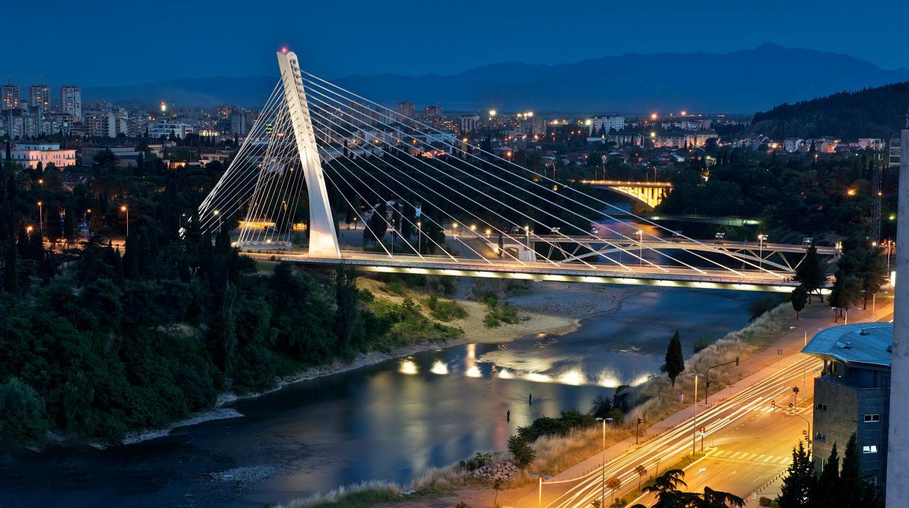 10 motivi per visitare Podgorica in Montenegro