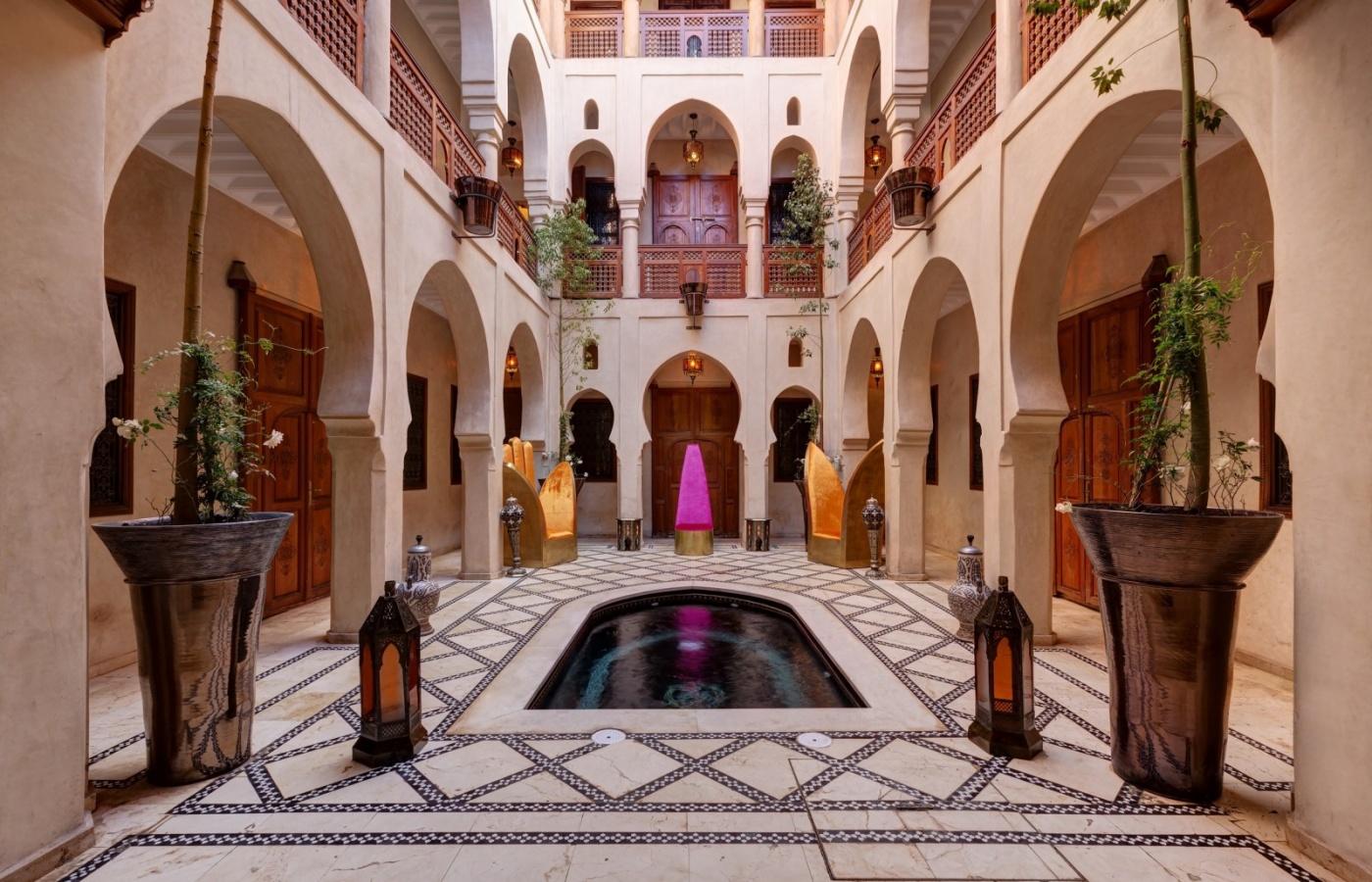I migliori riad di marrakech viaggiamo for I migliori piani di casa aperti