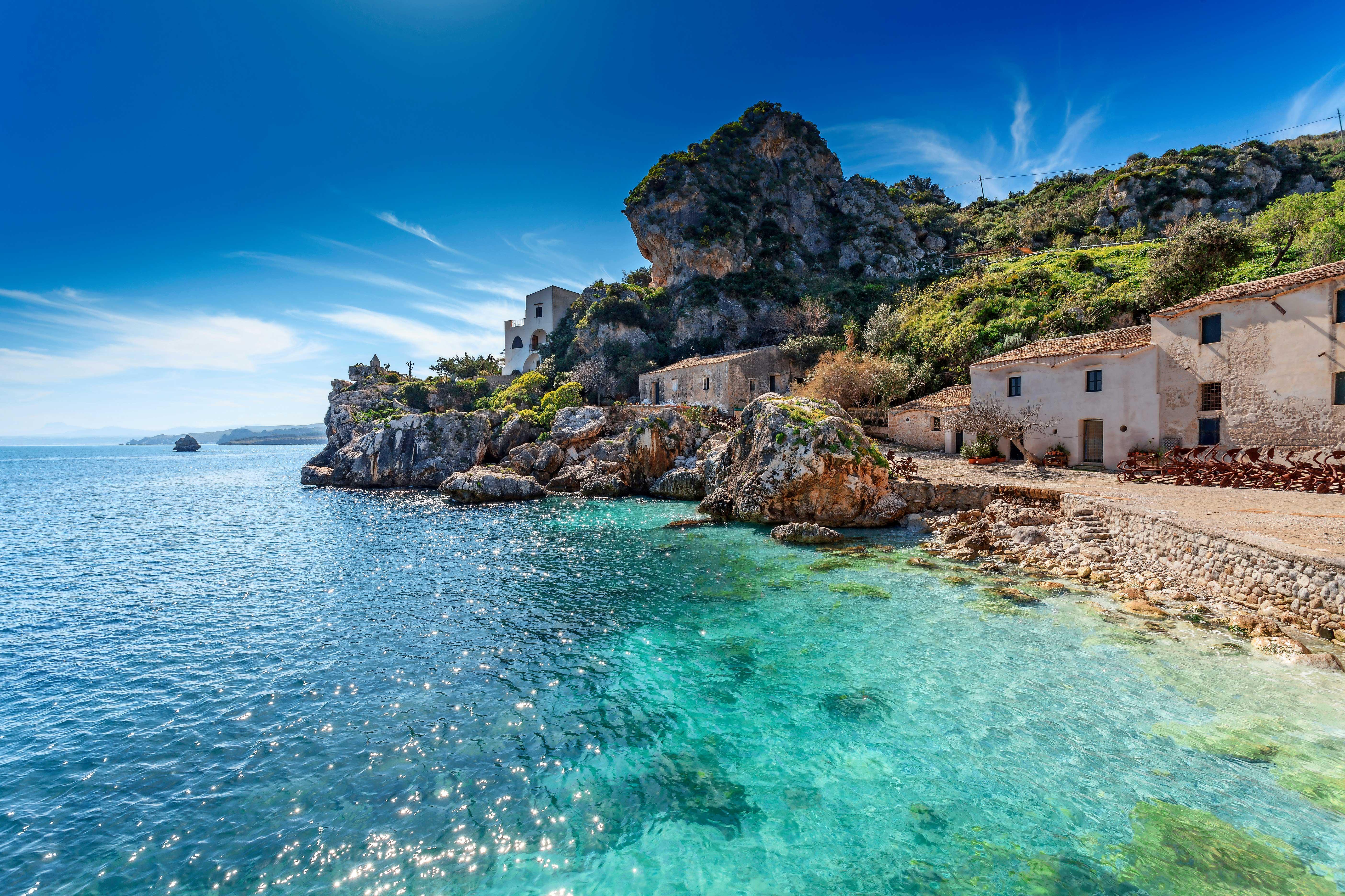 Temperatura acqua in Sicilia mese di Luglio