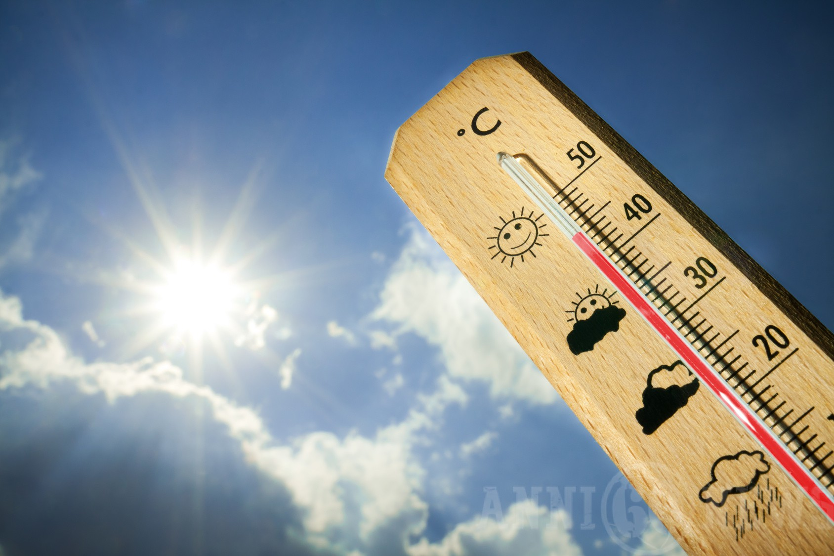 Temperature in Sicilia mese di Luglio