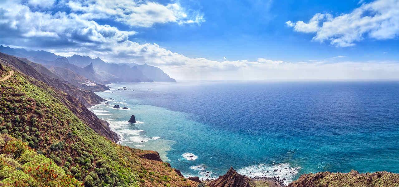 Il clima di Tenerife nel mese di dicembre